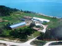 Lakefront ranch for sale