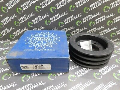 New 3 Groove Martin 3 5v 630 Sk Bushing Bore V-belt Pulley