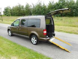 2013 63 Volkswagen Caddy Maxi Life1.6 Tdi 7 SEATS Wheelchair Accessible Vehicle