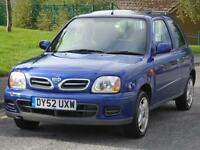 NISSAN MICRA TEMPEST 1.0 16v ONE CAREFUL OWNER FROM NEW