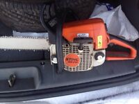 Stihl MS 210 Chainsaw for sale!!
