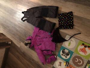 Manteau deux par deux fillette 4 ans