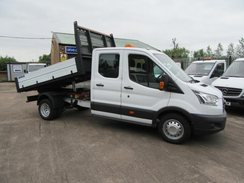 1084add2cabe1b 2016 Ford Transit Tipper 350 125bhp Crew Double Cab One Stop Dropside Pick  up