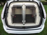 Ex Police Double Dog Cage