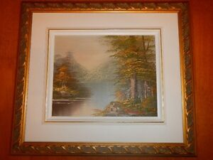 Oil On Canvas Painting Signed by artist Thibodeau
