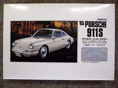 32 Owners Club (Arii Owners Club 1/32 23 1965 PORSCHE 911S 1/32 scale kit)