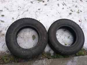 Winter tires 215/70/15