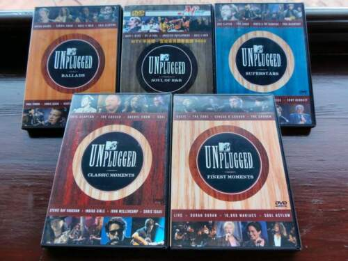 MTV Unplugged DVD original Collections (5 DVD)