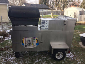 HOT DOG CART FOR SALE!