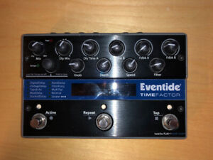 Eventide Time Factor Delay Pedal