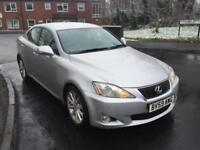 LEXUS IS 250 2.5 PETROL AUTO SE-I,HPI CLEAR,1 OWNER,SAT NAV,CAMERA,SENSOR,LEATHR