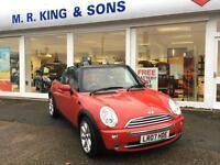 Mini 1.6 Cooper Petrol Manual 3 Door Red 2007