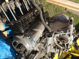 Parting out 1983 CB750 Nighthawk Engine Motor