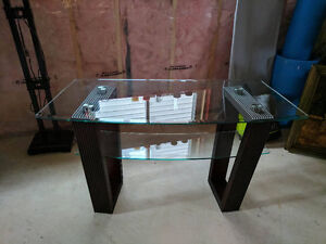 Glass-top Cocktail Table