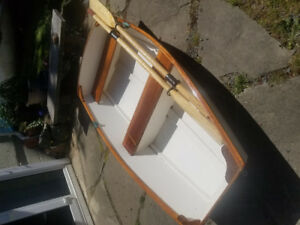 6 ft Wooden Row Boat $460