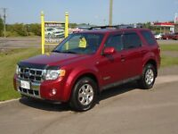 2008 FORD ESCAPE***4WD***LIMITED***HEATED LEATHER***V6