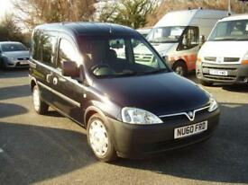 2010 VAUXHALL COMBO C DIESEL AUTOMATIC disabled vehicle