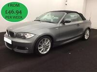 FROM £201.85 PER MONTH- 2010 BMW 120D 2.0TD M SPORT CONVERTIBLE DIESEL MANUAL