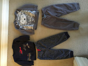 Boys 24 month fleece pajamas
