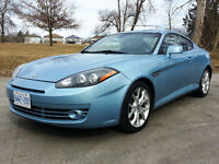 2007 Tiburon GT V6 – Only 83,000Km – Not Winter Driven