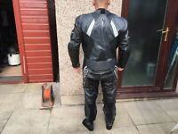 Richa Motorbike One Piece Leather Suit. Large/Xl. Size 56. Uk 46. Not Rst Alpine Stars
