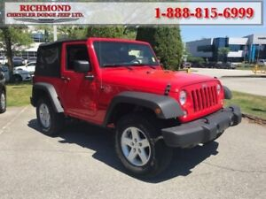 2016 Jeep Wrangler Sport  - Cruise Control -  Removable Top