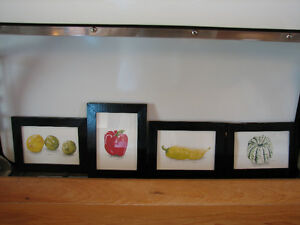 Hand Painted Original Water Colour Fruits and Vegetables Prints Kitchener / Waterloo Kitchener Area image 3