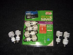 Spiral Energy Saving Light Bulbs