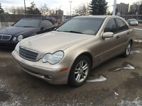 2004 Mercedes-Benz C240 4MATIC All WHEEL DRIVE !!