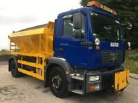2008 58 MAN TGM 18.240 6m3 Econ gritter, plough bracket, 60kms, ex council