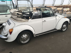 Super Beetle Convertible 1979