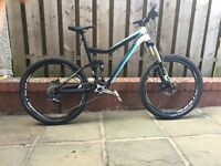 2013 Kona Cadabra fs mountain bike