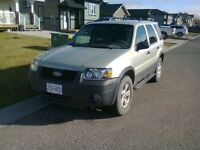 2005 Ford Escape in excellent condition 4WD