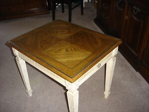 `Solid Wood End table