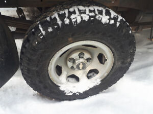 TWO TIRES  used 3days only 647 292 6842