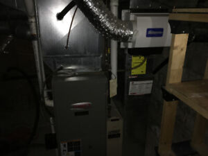 Lennox Elite Furnace with GeneralAire Humidifier