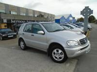 2003 (52) MERCEDES-BENZ ML 270 CDi AUTO LUX Leather Climate S/Roof Low Mileage