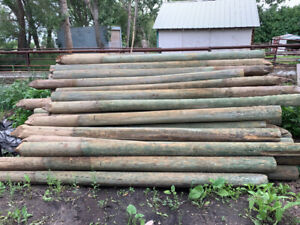 6x6 Treated Posts | Kijiji in Alberta  - Buy, Sell & Save