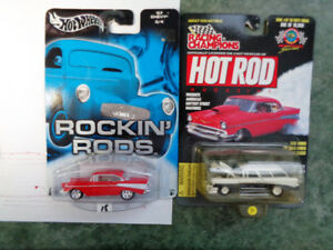 RC Hot  Rod   Hotwheels Real riders 56 Nomad 57 Chevy RR