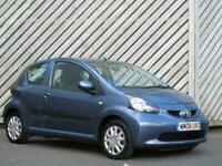 2008 Toyota AYGO 1.0 VVT-i AYGO Blue 3 DOOR HATCH - ONLY 30 ROAD TAX - LOW INSUR