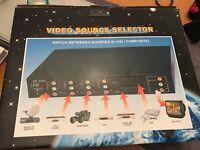 AV 6 in 1 Source Selector (Retro Gaming Solution)