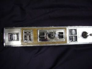 1979-85 Cadillac Biarritz dr door power switch panel with memory