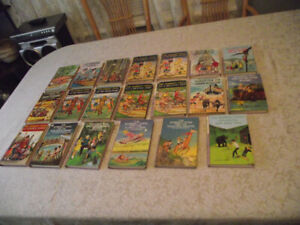 THE BOBBSEY TWINS BOOKS - VINTAGE