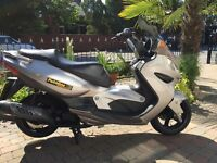 Some cheap 125 scooters from £599 malaguti kymco Piaggio Honda