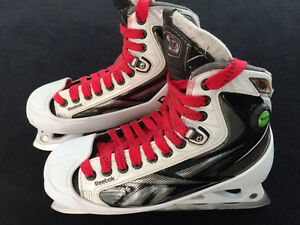 Reebok 16K goalie skates (size 7D) with 2nd set of blades