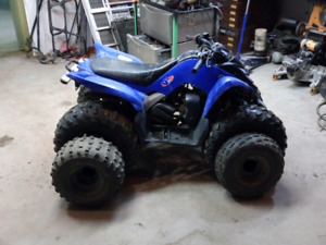 2013 Yamaha Raptor 90 YFM90. Lift, Full Size Tires