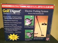 Electric putting system