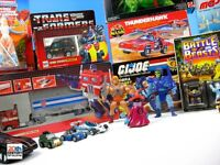 WANTED 80's & 90's toys and games