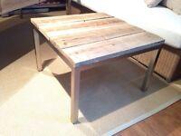 Table en bois de Grange, Barn Wood Table 140$