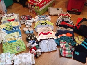 Buddle of clothes-3 months